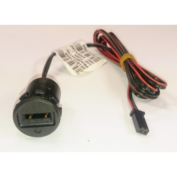Socket of electronic service key